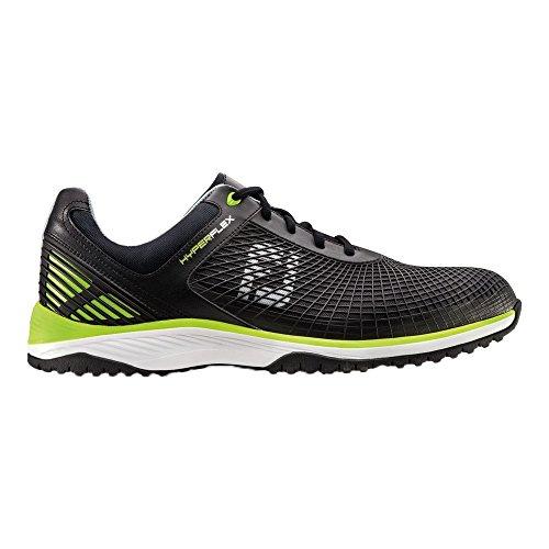 FootJoy HyperFlex Spikeless Golf/Fitness Training Shoes Black/Lime 9.5 (Footjoy Shoe Care)