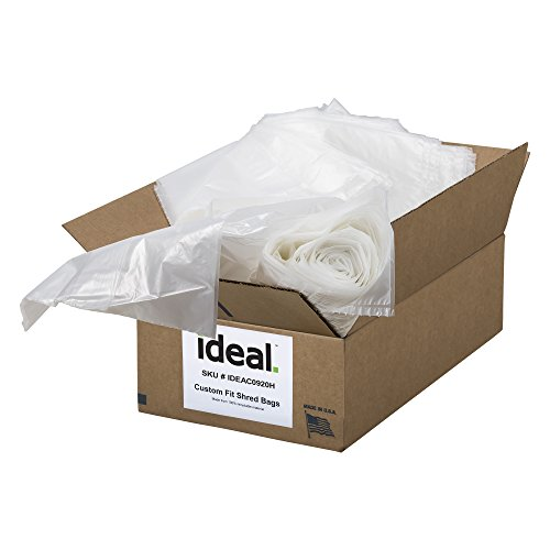 ideal Shredder Bags Heavy Duty 40 Gallon, 33.5