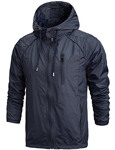 Zip Wind Rain Jacket - 4