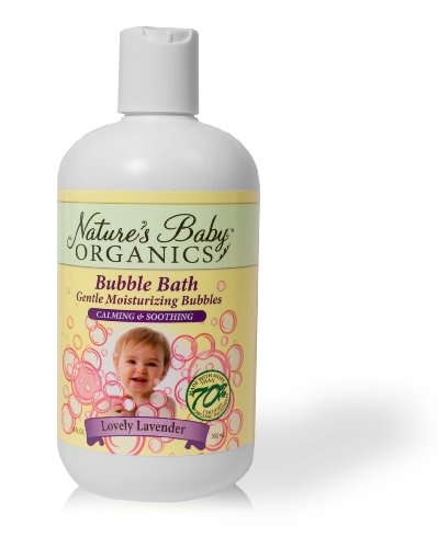 Nature Baby Bath Bubble Organics, Lavande Lovely, 12-Ounce Bottles (Pack de 2)