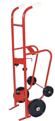 Milwaukee Hand Trucks 40774 55-Gallon 4-Wheel Steel Drum Truck by Milwaukee