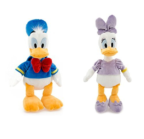 Disney Donald and Daisy Duck Medium Plush -