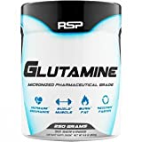 RSP Glutamine – Pure Micronized Glutamine Powder, Post Workout Muscle Recovery Supplement for Men and Women, Unflavored, 250 grams Review