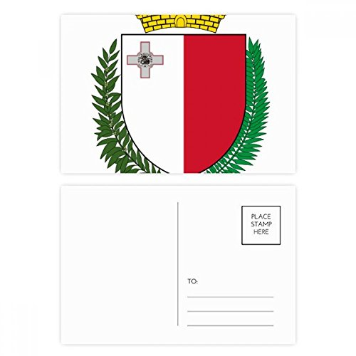 - Malta Europe National Emblem Postcard Set Birthday Thanks Card Mailing Side 20pcs