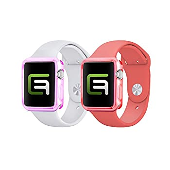 Eco-Fused Replacement Case Cover Bundle Compatible with Apple Watch - MV (38mm Apple Watch 1-3 Pack: Women) - Only for Apple Watch Series 1