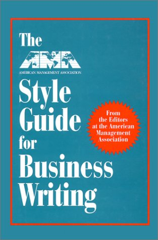 the ama style guide for business writing
