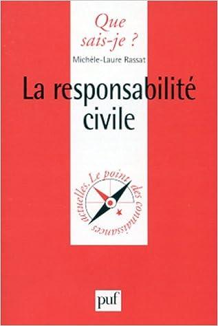 Livres La Responsabilité civile pdf ebook