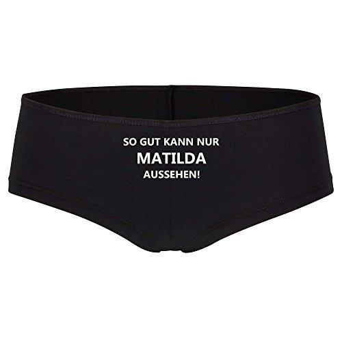 Panty So gut kann nur Matilda schwarz Damen Gr. S bis XL