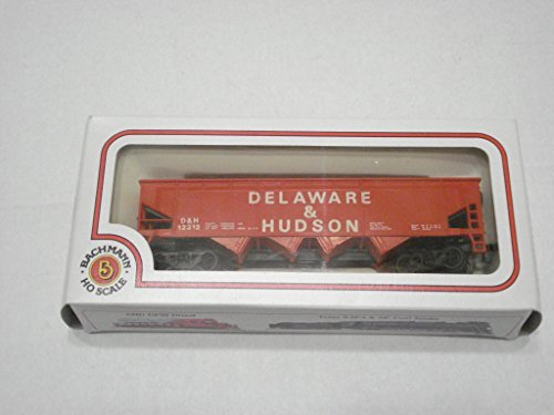 HO Scale Delaware & Hudson Quad Hopper Open RTR Rolling - Ho Scale Hudson