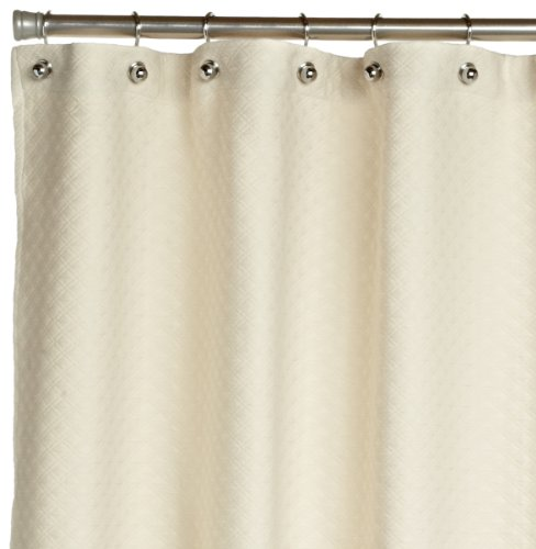 Peacock Alley Alyssa Shower Curtain, Standard, Natural by Peacock Alley
