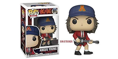 Funko AC/DC Pop Angus Young, Multicolor (08896983648