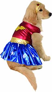 DC Comics Pet Costume, Medium, Wonder Woman
