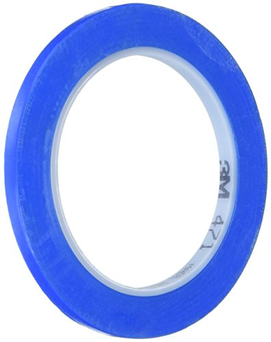 "3M 471 IW Blue Vinyl Tape, 1/4"" x 36 yd, 5.2 mil from 3M"