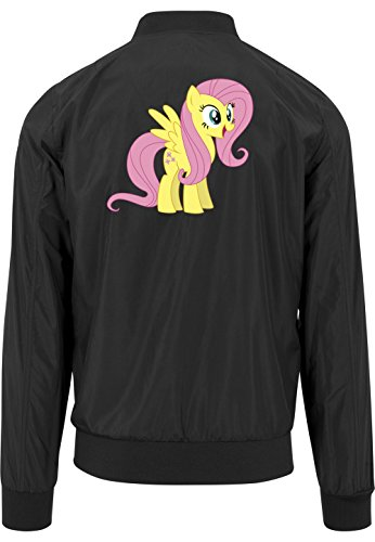 Fluttershy Pony Bomberjacke Black Certified Freak