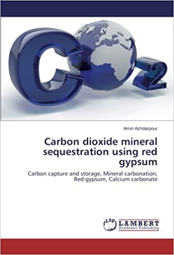 Carbon dioxide mineral sequestration using red gypsum: Carbon capture and storage, Mineral carbonation, Red gypsum, Calcium carbonate