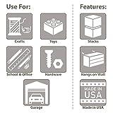 Akro-Mils 64 Drawer 10164, Plastic Parts Storage