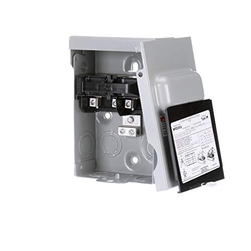 SIEMENS WF2030U Fused Ac Disconnect Switch, 30 A, 120/240 Vac, 2 Pole, Steel