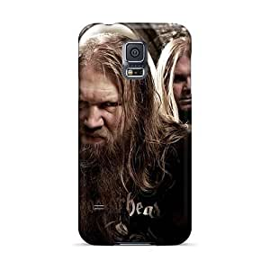 AaronBlanchette Samsung Galaxy S5 Scratch Protection Phone Case Allow Personal Design Colorful Amon Amarth Band Pictures [NTk11857oUhB]