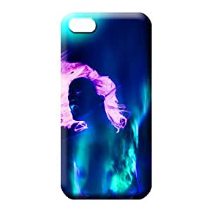 iphone 6plus 6p Series dirt-proof Back Covers Snap On Cases For phone cell phone carrying cases colorful aurora polar light polarization