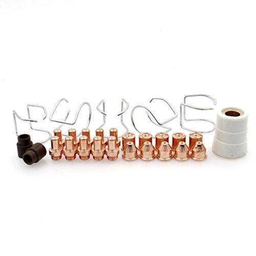28pcs Electrode Tip Swirl Ring Shield Spring Guide for Ea...