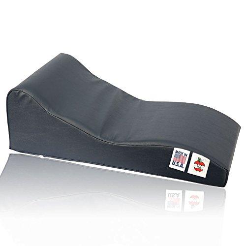 Soothe-A-Ciser Vinyl Cervical Traction Cushion - Black