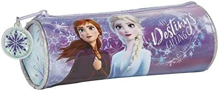 Frozen II - Estuche Redondo Escolar, 200x70mm: Amazon.es: Equipaje