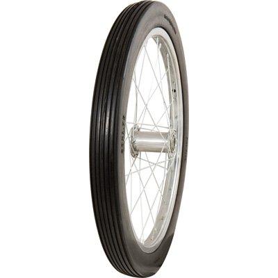 (Marathon Tires Flat-Free Tire on Steel Spoke Rim - 3/4in. Bore, 20 x 2.0in.)
