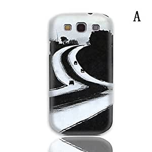 Jia Robot Design Series Hard Case with 3-Pack Screen Protectors for Samsung Galaxy S3 I9300 , H