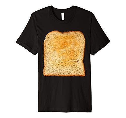 Mens Avocado Toast Matching Costumes - Toast Bread Slice Costume  Premium T-Shirt