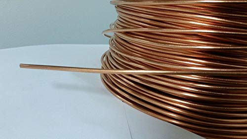 Copper 10 AWG Hobby Jewelry 20' FEET Soft ANNEALED Ground Wire Solid Bare ()