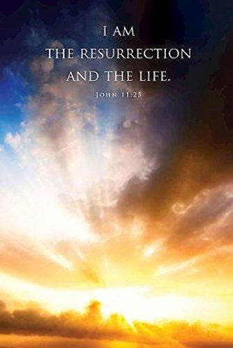 I Am the Resurrection Funeral Bulletin (Pkg of 50)