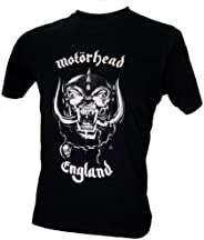 Lectro Men's Motorhead Logo Rock Band Retro Classic T-Shir