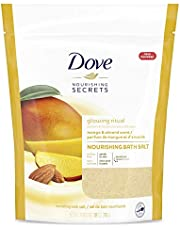 Dove Nourishing Secrets Bath Salts to help revive sore, tired muscles Mango and Almond with natural skin nourishers 793 g
