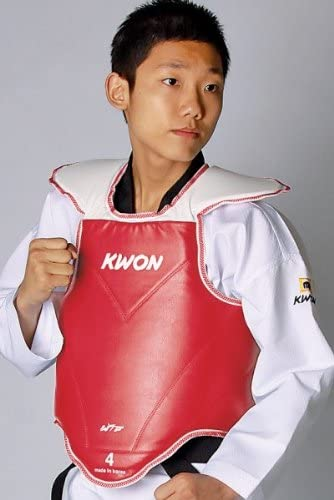 CE KWON TKD Kampfweste Korea WTF rec