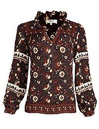 Women's Francesca Print Long Sleeve Blouse