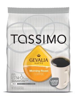 Gevalia Morning Roast Coffee Tassimo Discs 4.3 Oz