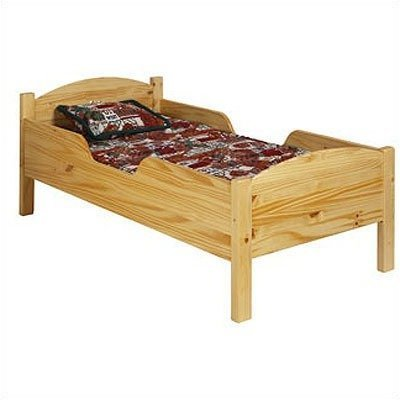 Little Colorado Traditional Toddler Bed, Honey Oak
