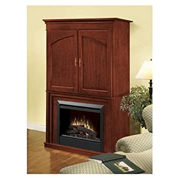 Dimplex DFP6776C Entertainment Center Electric Fireplace   Cherry Finish