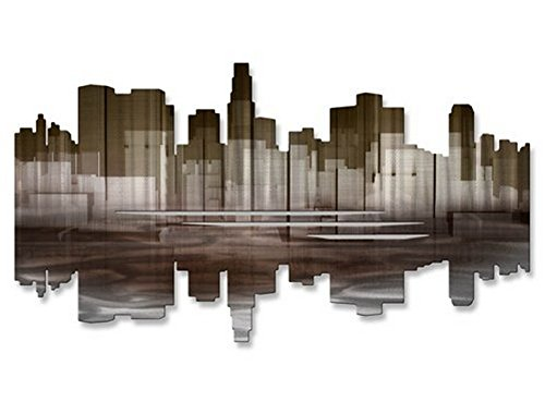 Los Angeles ReflectiII' Massive Modern Metal Wall Decor