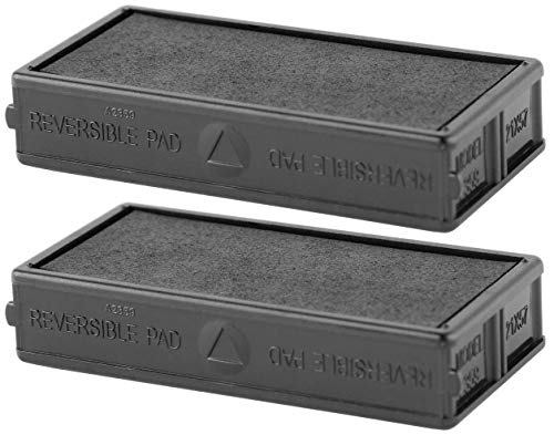 ExcelMark A2359 Self Inking Replacement Ink Pads - Black ()