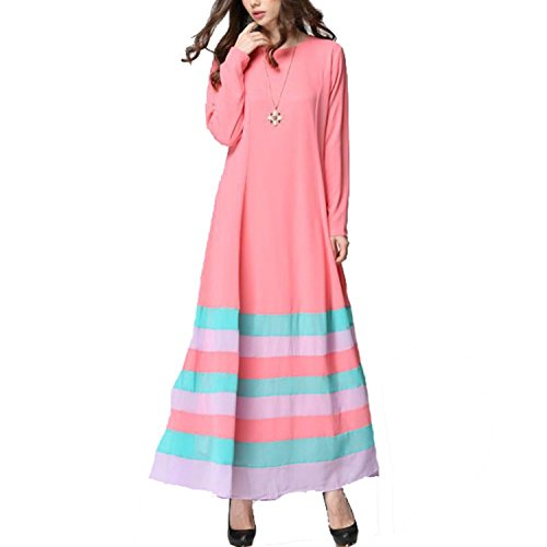 Used, Aro Lora Women's Vintage Striped Kaftan Abaya Muslim for sale  Delivered anywhere in USA