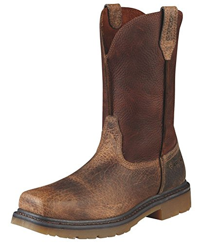 Ariat Men's Rambler Pull-on Steel Toe Work Boot, Earth/Brown, 11 M US by Ariat