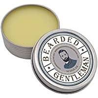 Bearded Gentleman - Men's Solid Cologne: Scholar - (Vanilla & Tobacco) | All Natural | 1 oz | Handmade | Double the amount of any competitor!