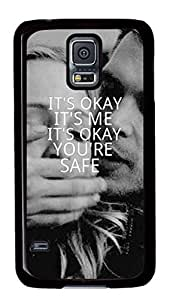 iCustomonline It's OK Custom Hard Back PC Black Samsung Galaxy S5 Case