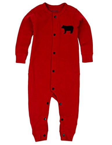 (Little Blue House By Hatley Baby Infant Union Suit, Bear Bum, 3-6 Months)