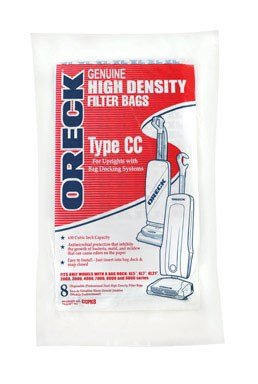 Oreck Vacuum Bag Type Cc Fits Oreck Can 8 / Pack