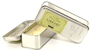 Paddywax Candles Library Collection Oscar Wilde Scented Travel Tin Soy Wax Candle (Cedarwood, Thyme, Basil)