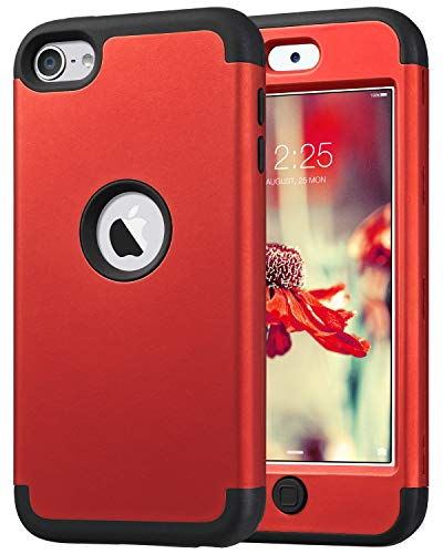 ULAK iPod 6 Case, iPod Touch 6 Case, Heavy Duty High Impact Knox Armor Case Cover Protective Case for Apple iPod Touch 5 6th Generation - Ipod Touch For Lifeproof Case
