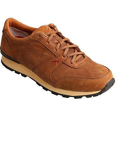 Twisted X Men's Saddle Athleisure Shoes Brown 13 D