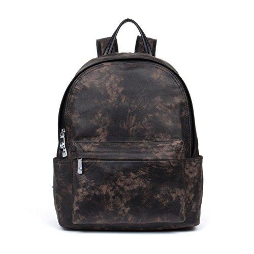 School Nylon 4 Black Water Bostanten For Women Backpack noir Rucksack Bag Resistant Travel Purse q0wCw6Ex